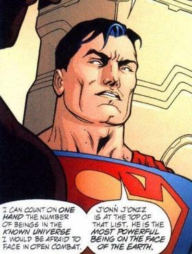MartianManhunter - Superman's Top Five
