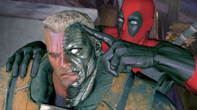 Deadpool Game - Cable 01